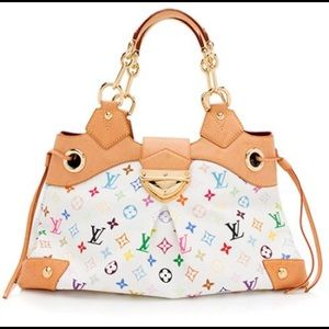 Louis Vuitton multicolor Ursula satchel